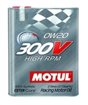 Motul 300V Racing Motor Oil 0W-20