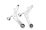 SuperPro Subaru WRX Front Alloy Lower Control Arm Assembly - Includes DuroBall Caster Increase (Left/Right)