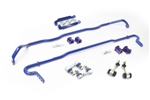 SuperPro Subaru WRX 26mm 24mm Heavy Duty Blade Adjustable Sway Bar Kit Front Rear