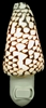 marble cone night light