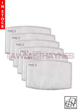 Tawni Haynes Carbon Filter Mask Inserts