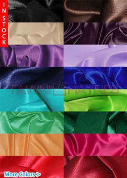 Poly Satin Fabric