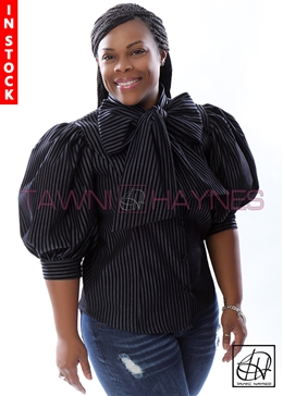 Tawni Haynes In-Stock Dark Denim W/ Black Stripe