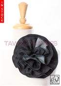Tawni Haynes Circle Flower Pin (8 inch) - Denim