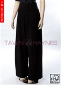 Tawni Haynes In-Stock Black Stretch Crepe Pants