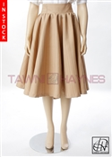 Tawni Haynes In-Stock Champagne Brocade High Waist Swing Skirt