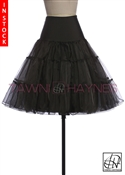 Tawni Haynes In Stock! Black Petticoat