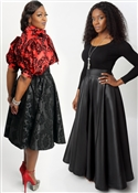 High Waist Swing Skirts!
