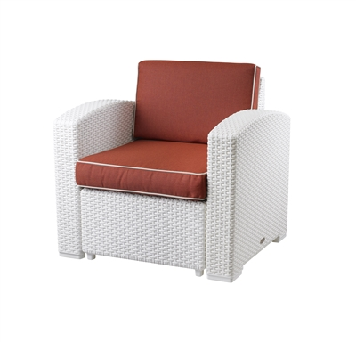 MAGNOLIA Rattan Club Chair