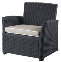 GARDENIA Rattan Club Chair