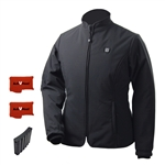 ActiVHeat Women's RECHARGEABLE TurboHeat Insulated Soft-Shell Jacket - Ultimate Bundle