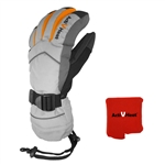 ActiVHeat WX4 Weightless Rechargeable Battery Heated Crossover Women's Glove ALL-DAY Bundle