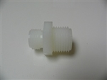 "Nylon adapter male 3/8"" BSP to male 1/2"" NPT BBG Part # 1040088"