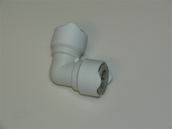 Whale quick connect plumbing fitting- 15mm equal elbow. Sea Ray Part # 909937
