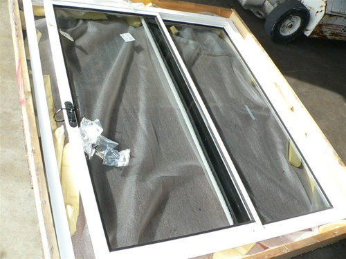 Alternative Views & Boat sliding glass door assembly