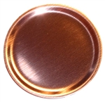 "3-1/2"" Copper ""Fryin' Pan"" .062 thk."
