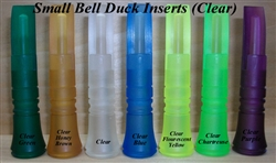 Small Bell Clear Duck Call Insert
