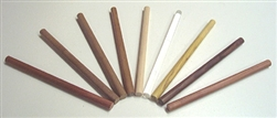 Walnut Striker Rods/Dowels 10 Pack