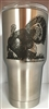 Turkey/morels 30oz. tumbler