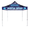 Full Color 10x10 -Heavy Duty Aluminum- Canopy Tent