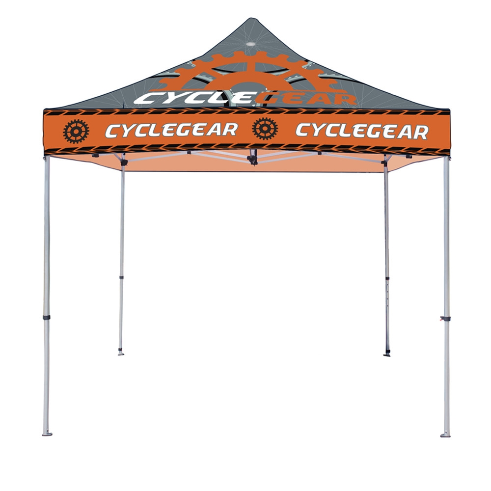 Full Color 10x10 -Steel- Canopy Tent  sc 1 st  Custom Race Suits Canopy Tents Stickers Banners u0026 MORE : custom tailgating tents - memphite.com