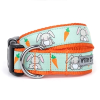 The Worthy Dog Bunnies Dog Collar