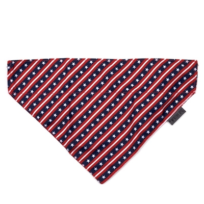 The Worthy Dog Stars and Stripes Bandana