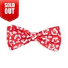 The Worthy Dog Aloha Coral Bow Tie