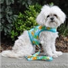 Pineapple Luau Fabric Dog Harness
