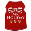 Mr Holiday Dog Tank