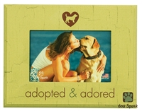 "Adopted And Adored 7""x9"" Picture Frame"