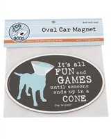 Its All Fun And Games Car Magnet