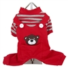 Animal Overalls Dog Pajama-Bear