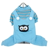 Animal Overalls Dog Pajama-Owl