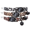 Animal Print Cat Collars