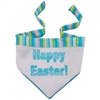Blue Happy Easter Scarf