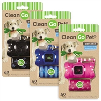 Clean Go Pet Bone Waste Bag Holders