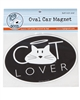 Cat Lover Car Magnet