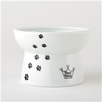 Necoichi Raised Cat Food Bowl