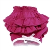 Doggie Design Ruffled Dog Panties-Solid Pink