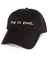 Dog Is Good Signature Hat