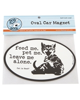 Feed Me Pet Me Car Magnet