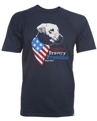 Freedom Dog Unisex T-Shirt