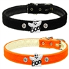 Ghost Charm Velvet Dog Collar