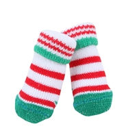 Grinch Dog Socks-Green