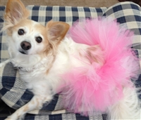 Handcrafted Dog Mesh Ribbon Tutu
