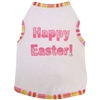 Happy Easter Dog Tank-Pink