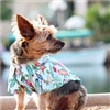 Hawaiian Camp Dog Shirt-Surfboards and Palms
