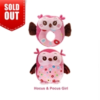 Hocus & Pocus Two-Furrs Precious Pink Girl Set Of Owls