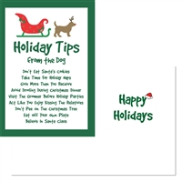 Holiday-Holiday Tips from the Dog